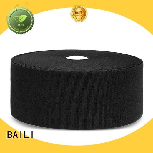 BAILI high quality fastener tape customized for shoes