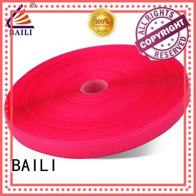 BAILI nylon hook & loop tape manufacturer for leather-ware