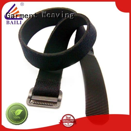 BAILI nylon nylon hook and loop fasteners factory direct supply for luggage
