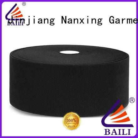 BAILI plastic hook and loop fastener sewing customized for luggage