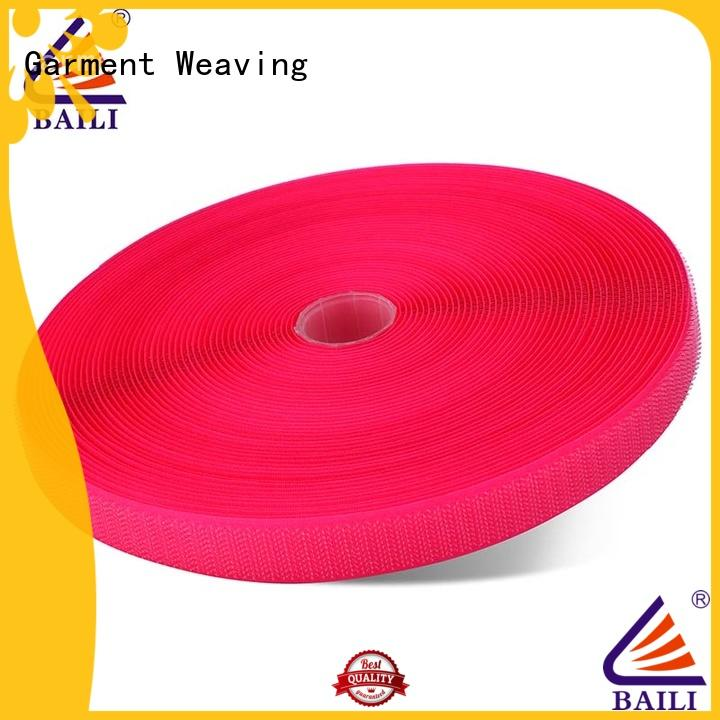 BAILI eco-friendly hook & loop tape manufacturer for shoes
