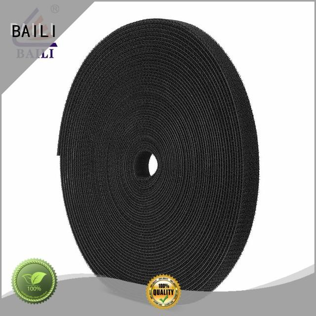 BAILI durable double sided hook and loop manufacturer for strapping