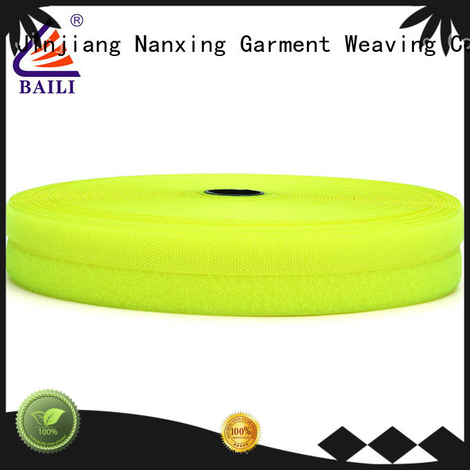 BAILI eco-friendly hook and loop customized for costumes