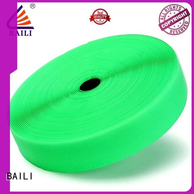 durable stick on hook and loop tape manufacturer for shoes BAILI