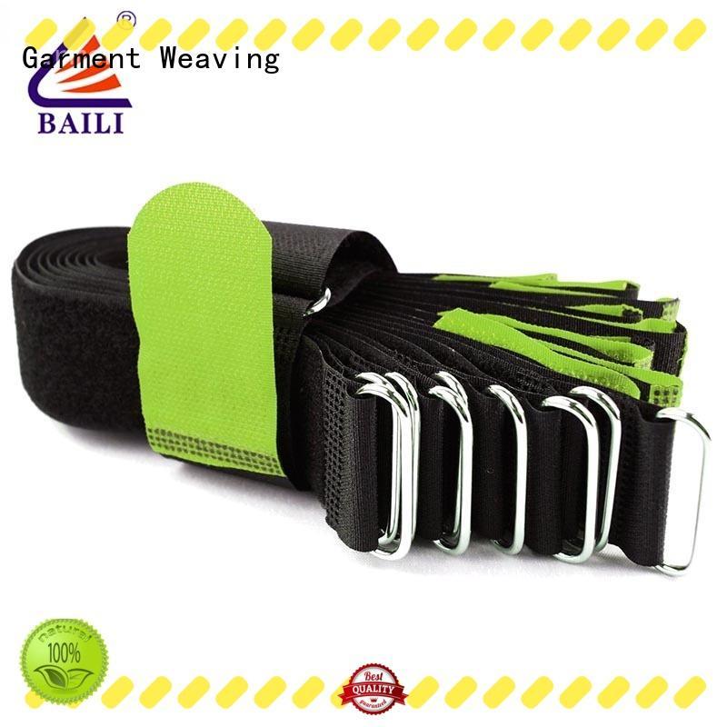 BAILI nylon hook and loop fastener supplier for medical equipment