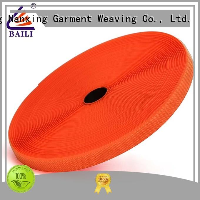 BAILI durable hook & loop tape manufacturer for shoes