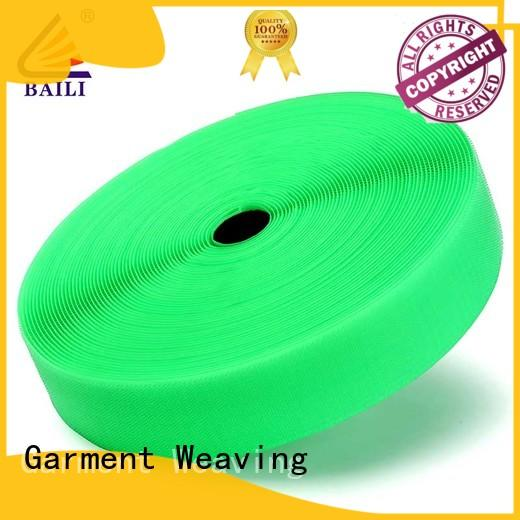 BAILI eco-friendly hook and loop tape roll customized for leather-ware