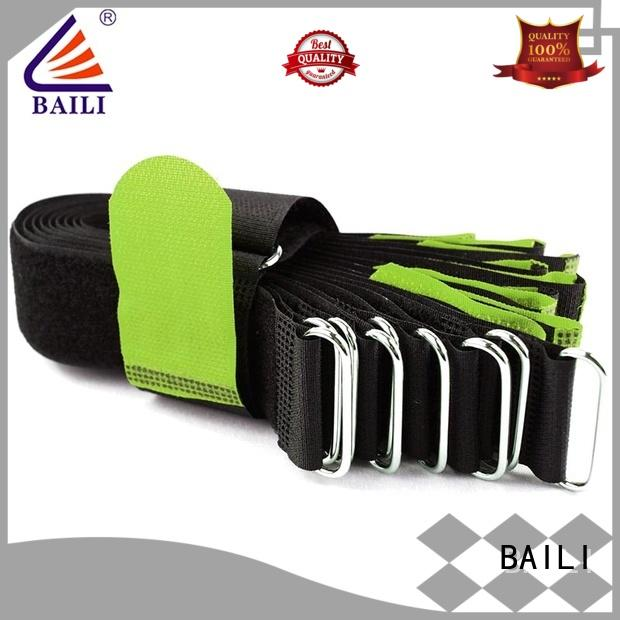 BAILI multi-purpose reusable tie straps factory direct supply for bundle