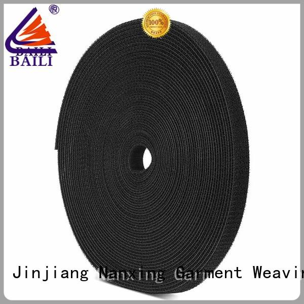 good price sticky back hook and loop tape roll factory direct supply for strapping