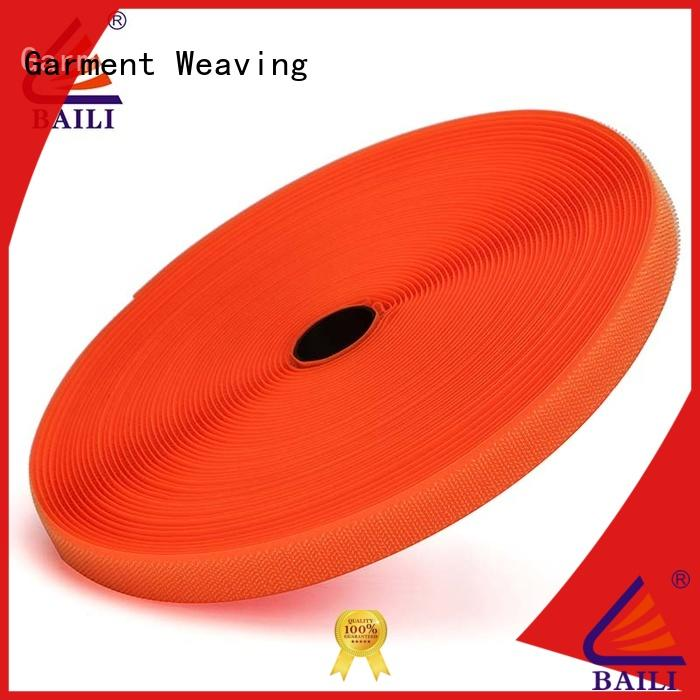 quality hook and loop tape A grade quality factory direct supply for leather-ware