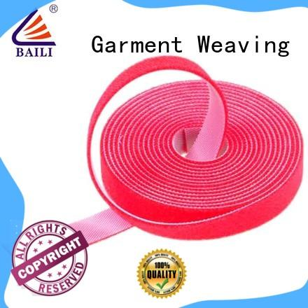 BAILI reusable sticky back hook and loop tape supplier for strapping