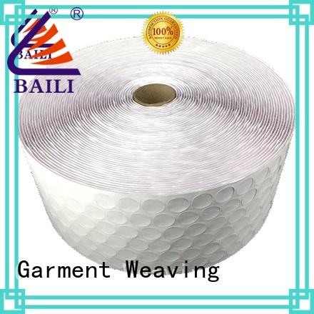 BAILI with dots self-adhesive hook and loop supplier for wood