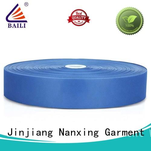 high quality fastener tape plastic customized for bags