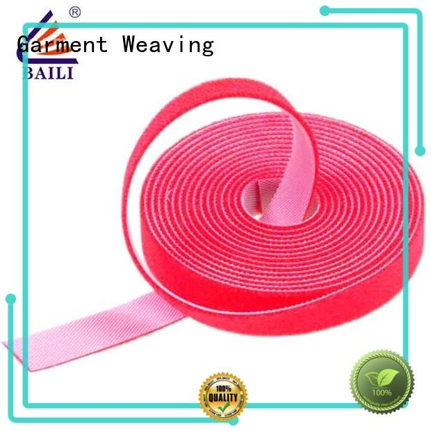 good price double sided hook tape supplier for cable BAILI