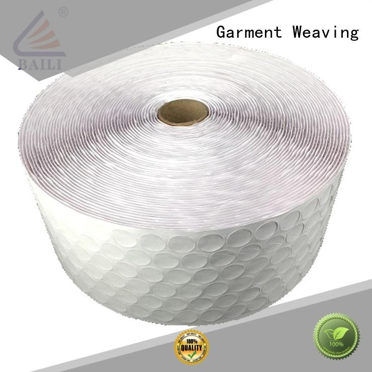 BAILI nylon self adhesive hook and loop tape wholesale for metal