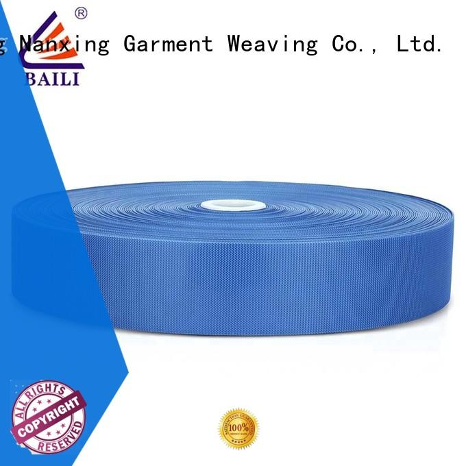 BAILI molded hook pile tape manufacturer for shoes