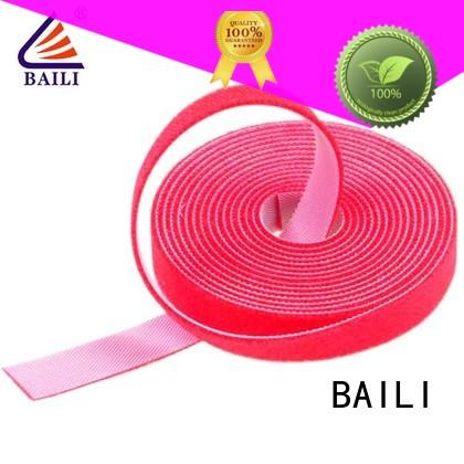 BAILI good price sticky back hook and loop supplier for strapping