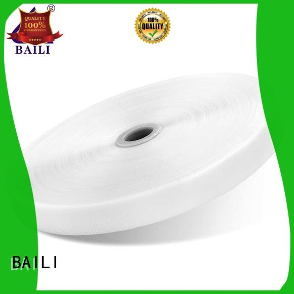 BAILI high quality hook and loop fastener sewing customized for shoes