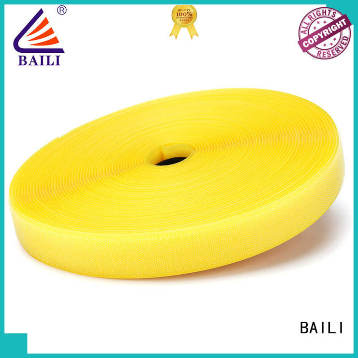 BAILI multicolor hook & loop tape customized for shoes