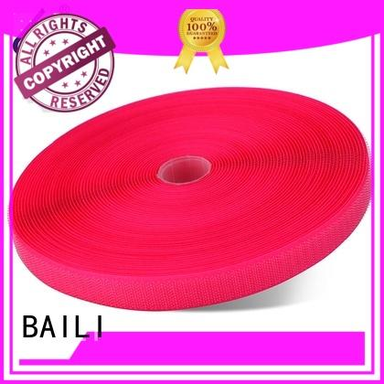 nylon stick on hook and loop tape multicolor for curtain BAILI