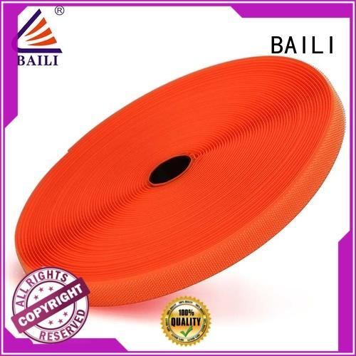 BAILI reliable stick on hook and loop tape multicolor for shoes