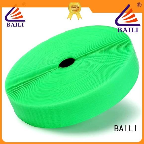 BAILI strong peeling strength hook loop factory direct supply for costumes