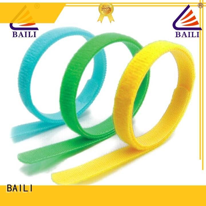 BAILI oem hook and loop fastener series for medical equipment