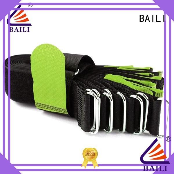BAILI oem nylon hook and loop fasteners series for bundle