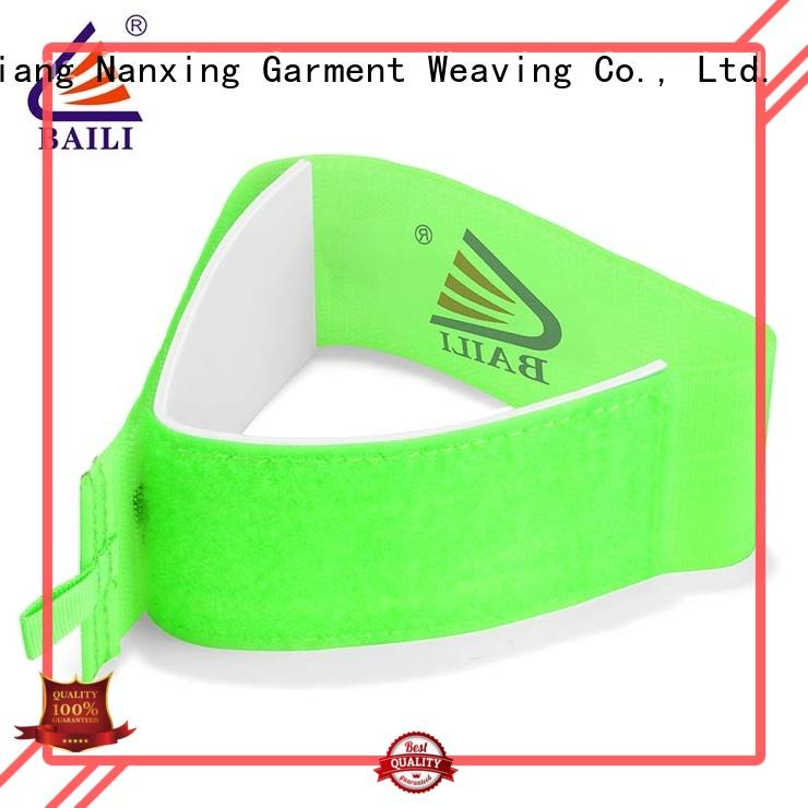 BAILI rubber hook and loop ski straps wholesale for carrying skis
