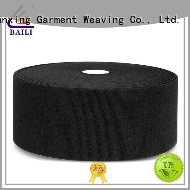 BAILI molded hook and loop fastener sewing wholesale for luggage