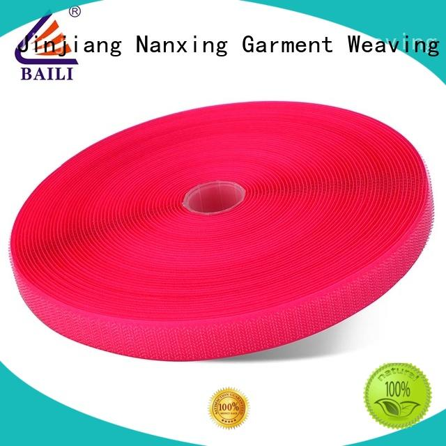 BAILI nylon hook and loop strips wholesale for shoes