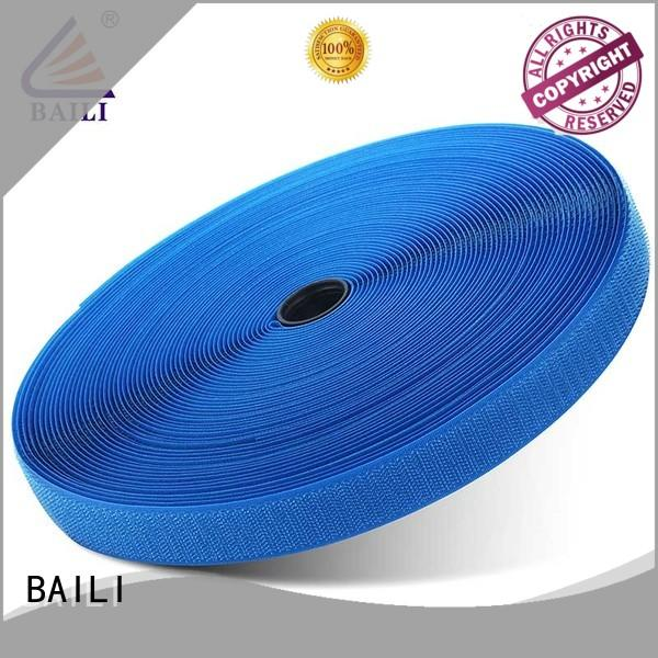 BAILI eco-friendly hook tape manufacturer for leather-ware
