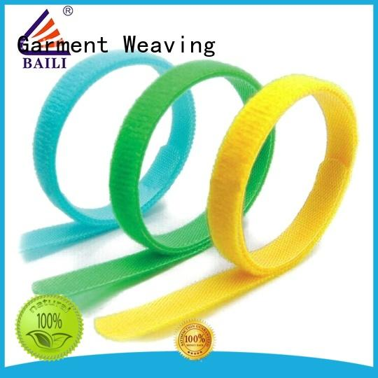 BAILI multi-functional hook and loop cable ties supplier for cable ties