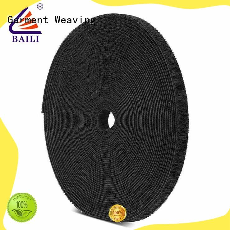 BAILI sided sticky back hook and loop tape factory direct supply for strapping