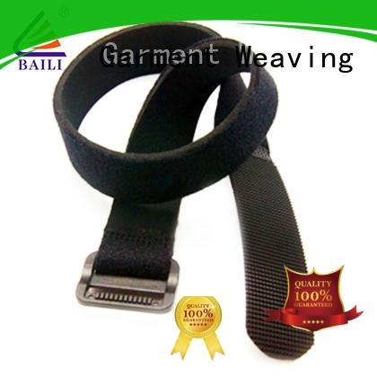 BAILI adjustable hook and loop strap supplier for cable ties