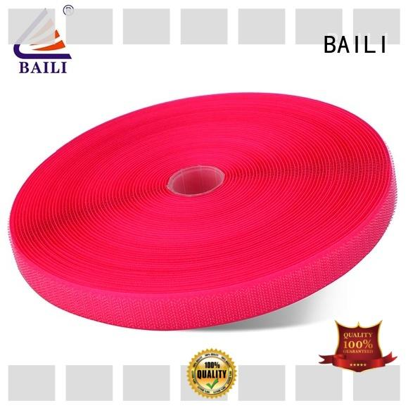 BAILI durable hook tape customized for shoes