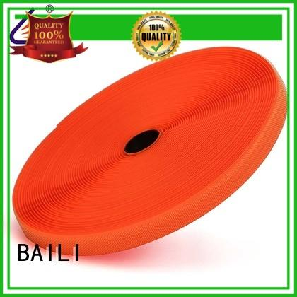 nylon industrial hook and loop strong peeling strength for curtain BAILI