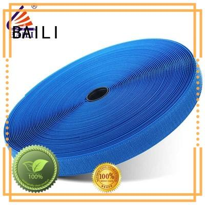 BAILI nylon hook and loop tape factory direct supply for leather-ware
