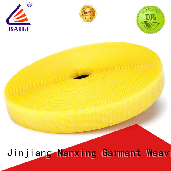 BAILI quality hook and loop roll wholesale for curtain