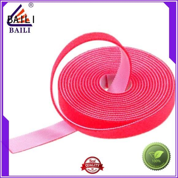 BAILI real double sided adhesive tape design for cable