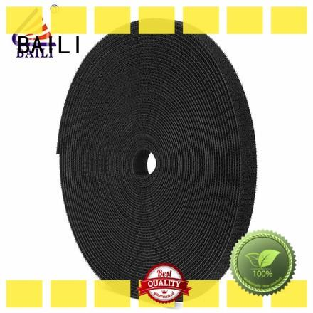 BAILI durable sticky back hook and loop supplier for cable
