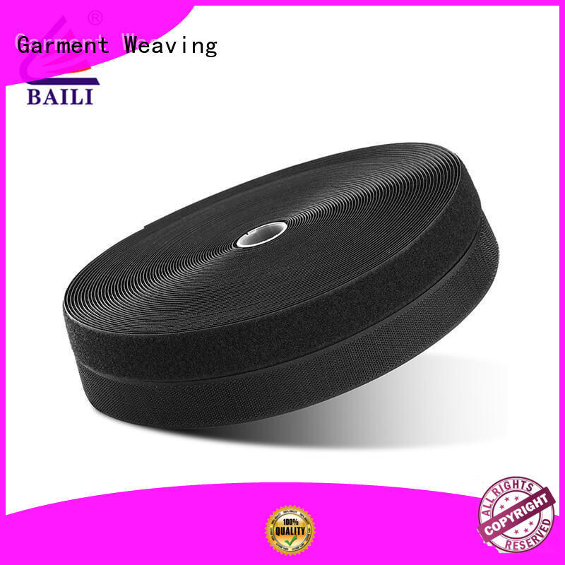 BAILI eco-friendly hook and loop tape wholesale for bags