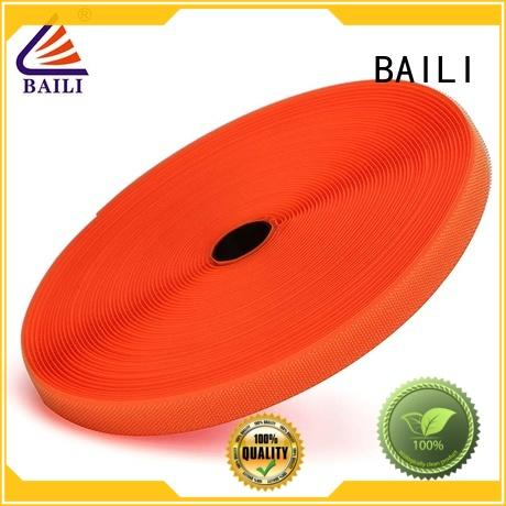 BAILI durable hook and loop manufacturer for shoes
