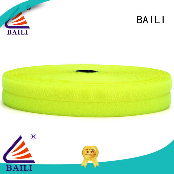 BAILI multicolor hook & loop tape wholesale for leather-ware
