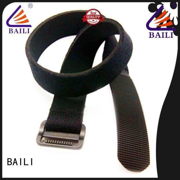 BAILI multi-purpose hook and loop straps manufacturer for bundle