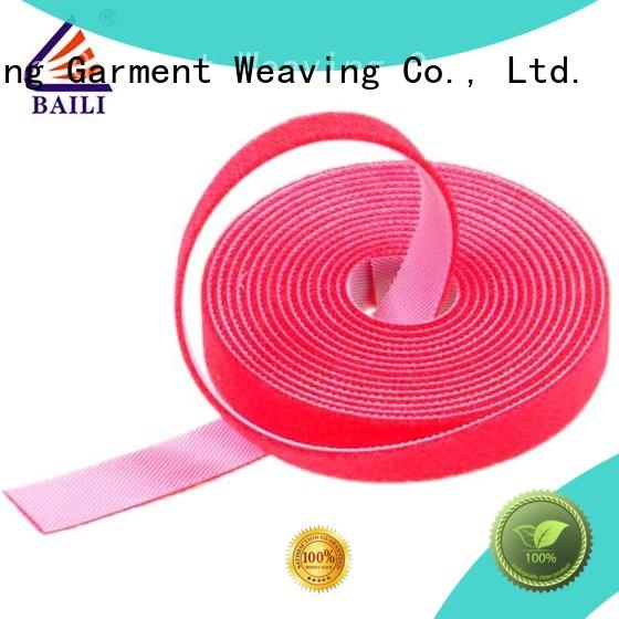 multi-purpose double sided hook and loop sided factory direct supply for cable
