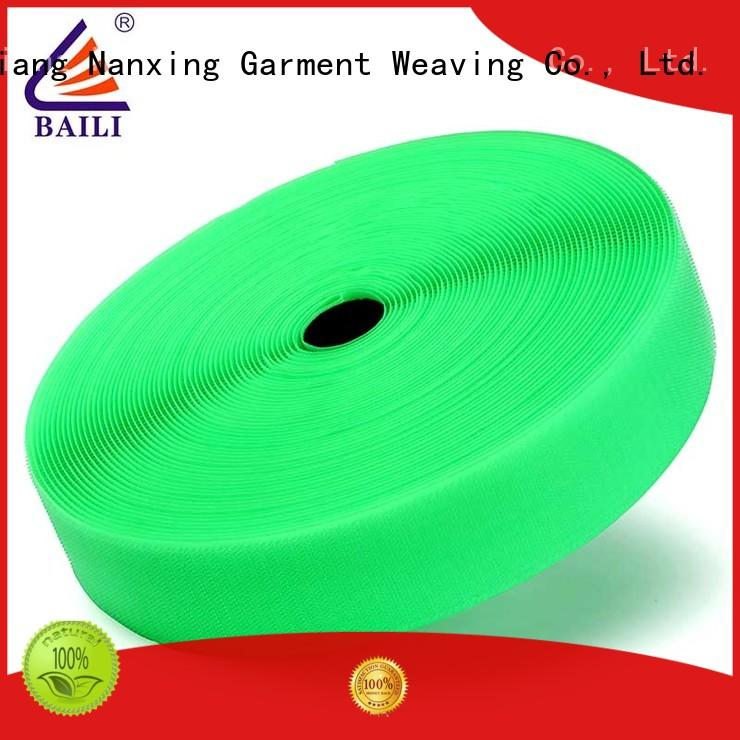 BAILI A grade quality hook and loop factory direct supply for costumes