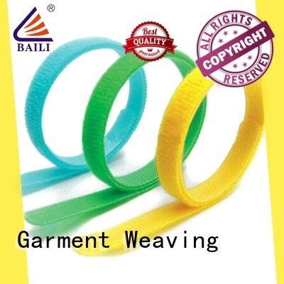 BAILI nylon hook and loop fastener supplier for luggage