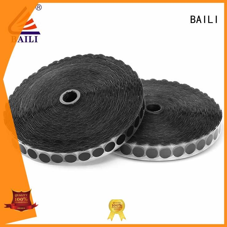 real self adhesive hook and loop tape high viscosity customized for metal
