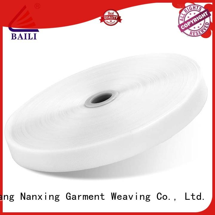 BAILI molded industrial hook and loop tape customized for baby garments